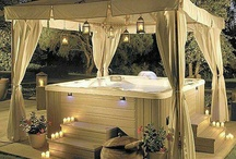 Jacuzzi options / New ideas for jacuzzi areas in the garden