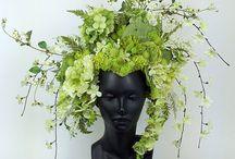 корона из цветов