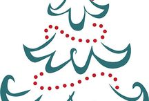 Silhoutte cameo - kerst