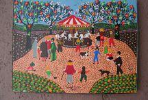 Folk Art / Naive & Primitive Paintings