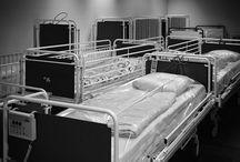 Hospitals billeder / Sort - hvid