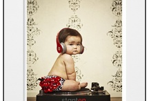 Baby studio photo ideas