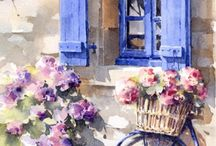 Aquarelle / Watercolor works