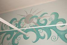Seinämaalauksia / Suoraan seinälle maalattuja erikoismaalauksia