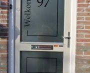 naambord voordeur