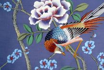 Chinoiserie Wallpaper / just the word itself makes it that more romantic
