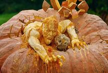 Pumpkin carvings / by Michelle Carrillo-Foley