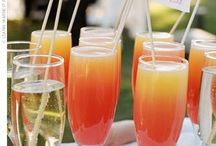 Signature Wedding Cocktails / A collection of signature cocktail ideas for different weddings!