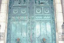portas portais portões