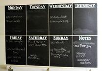 Liitutaulu ja kalenteri