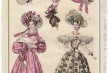 romanticismo 1815 al 1848 aprox / peinados historicos