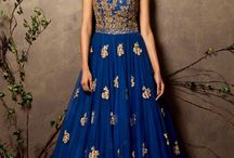 Indo-Western gowns for reception