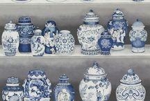 Ceramics: Blue & White / Pottery, ceramics, porcelain, ceramic history