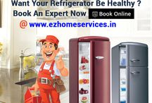 Refrigerator Repairing Service / Are you worried about your Fridge cooling or freezer,Repair or service? Get Book online verified technicians at Ezhomeservices.in . Service start at Rs. 249 Only. Just log on http://goo.gl/SxVTct