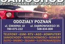 LOMBARD Expres jest nową szybko rozwijająca się filią Poznań / Poznań Lombard Expres 7 dni w tygodniu 8-22  Gwarna 10 Dąbrowskiego 35 Garbary 45 Półwiejska 22