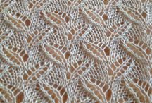 knitting stitches (lace)