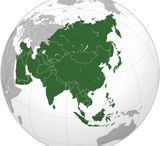 Continent - Asia / Asia; area 44,579,000 sq. kms; people 3,879,000,333; 47 countries