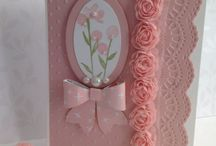 Pink flowers and bow punch