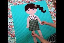 Öltöztetős baba szőnyeg