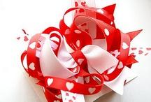 Valentine Bow Tutorials / by Mandy Naranjo