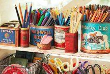 Kiriosities Art Studio Ideas - www.facebook.com/kiriosities