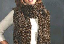 Crochet cowls, scarves & shawls
