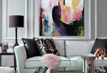 Art in Your Home / The beauty of living with original art and supporting artists.