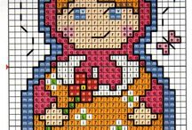 ♥cross stitching