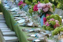 Салатный цвет на свадьбе