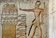 Ancient Art / Created by the civilization in the lower Nile Valley from 5000 BC to 300 AD / by Evelyn Esperança