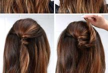 Cool Hair ~ Up and Down Styles