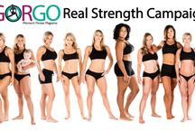GORGO Real Strength Campaign / Real Women. Real Warriors. Real GORGO. / by GORGO Women's Fitness Mag
