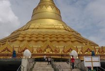 The Global Vipassana Pagoda / Global Vipassana Pagoda is an expression of our gratitude towards the Buddha who strived for incalculable aeons to reach Supreme Enlightenment. It is located near Gorai, North-west of Mumbai, India.