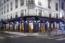 Le Richer / Extension du restaurant Le Richer   2 rue Richer, Paris 9e   Maître d'ouvrage : SAS Covi   Studio Vincent Eschalier   Architecture & Design   Photo © Joan Bracco / Studio Vincent Eschalier