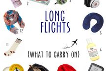 What to put in your carryon / What can you take on board to make your flight more comfortable? Great ideas for things to put in your Airpocket...