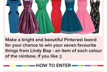 #ICanPinARainbow - Win with Lindy Bop! / My recently discovered Lindy Bop addiction! :)