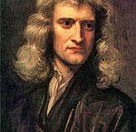 Isaac Newton / (Gregoryen takvimi için: d. 4 Ocak 1643 – ö. 31 Mart 1727)(Jülyen takvimi için: 25 Aralık 1642-20 Mart 1726), İngiliz fizikçi, matematikçi, astronom, mucit, filozof, ilahiyatçı.