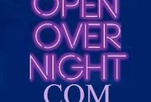 Open OverNight / Find a location open, a service offered or an after midnight activity