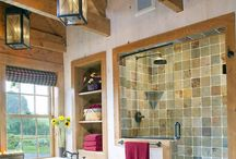 Timber frame: Bathrooms