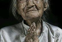 portrait femme agée