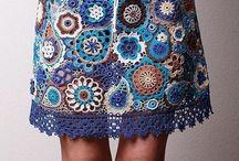 Crochet saias