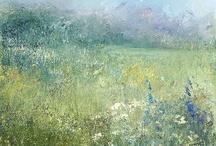 Impressionist art - flowers