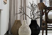 Ideas for Knitted Home Accents / Home decoration with knitting and crocheting