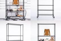 Metal Storage Unit Tier Wire Shelving Rack Heavy Duty 4 Tier Adjustable Shelf