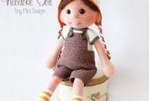 chrochet doll