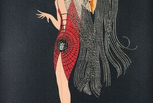ERTE / ART DECO ILLUSTRATION