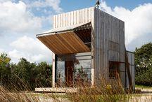 * cabins & huts*