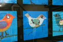 Oiseaux / printemps