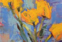 Abstract Flowers / by Paula Campbell