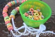 Rainbow birthday activity ideas